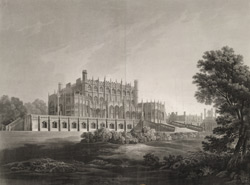 East View of Eaton Hall